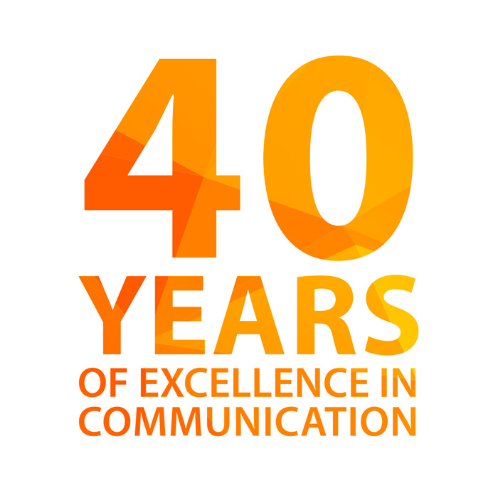 40 years of excellence in communication